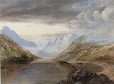 Morning Mist; John GULLY; 1863; 142