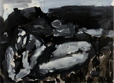 Figure in Landscape, Greymouth; Toss WOOLLASTON; 1967; 507