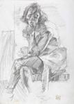 Dutch girl, Monique; Alan Pearson; 1986; 1234