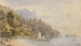 Lake Scene; John GULLY; 1885; 339