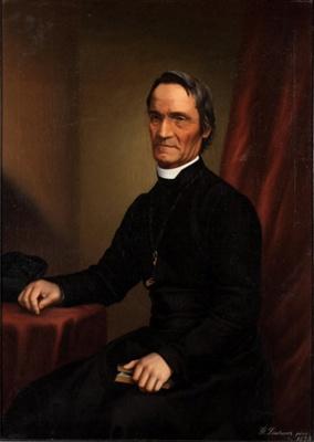 Portrait of Father Antoine Garin S.M.; Gottfried LINDAUER; 1875; 914