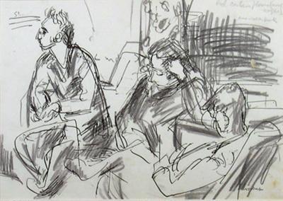 John Caselberg, Anna and Philip; Toss WOOLLASTON; 1959; 468