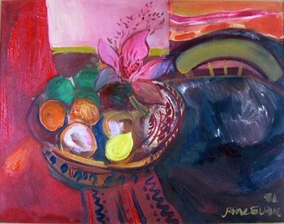 Still Life; Jane EVANS; 1981; 982