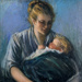 Mother and Child; Hermina ARNDT; 1919; 129