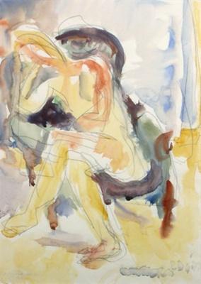 Suter Nude; Toss WOOLLASTON; 1977; 538