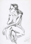 Huia, nude; Alan Pearson; 1978; 1203