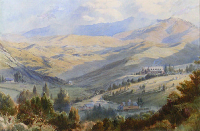 Bishopdale in 1874; John GULLY; 1874; 12