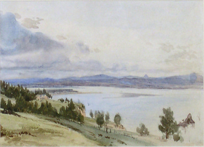 Nelson Haven from Mr Richmond's House; John GULLY; 23