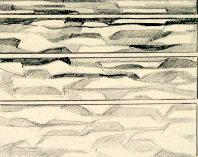 Untitled (Summer Seas); Irvine MAJOR; 1136