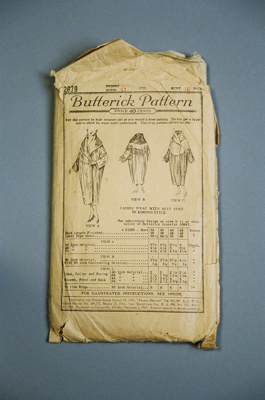 Butterick Pattern; Butterick Publishing Company; 2004/0173