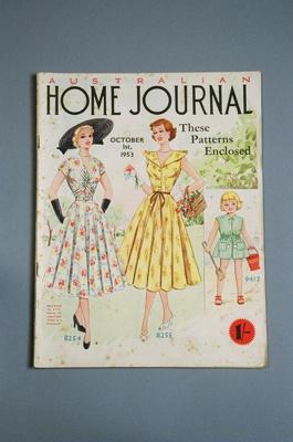Australian Home Journal; John Sands Pty Ltd; 1953; 2004/0136