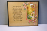 Framed prayer; 2004/0594