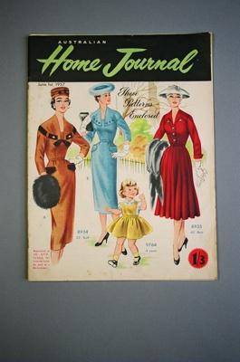 Australian Home Journal; John Sands Pty Ltd; 1957; 2004/0096