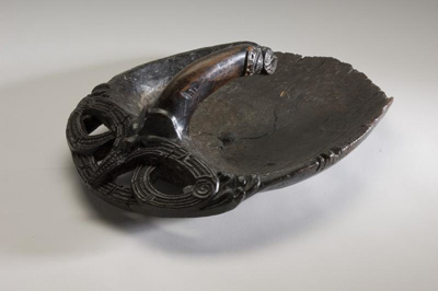 Tiheru (canoe bailer), 1200-1500, New Zealand, E158.218