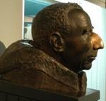 Bust of Roald Amundsen, Arne Vigeland, 1974, 1975.229.1