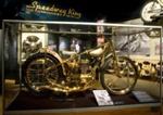 Motorcycle, Jawa Motors, Orange County Metal Processing, Engines by Wenn, 1968, IL2007.50.1