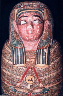 Tash Pen Khonsu Mummy, 363-172 BC, Egypt, EA1989.13