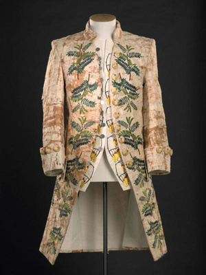 "Embroidered coat and waistcoat: ""Pacific Crossings"", Jo Torr, 2006, 2007.130.1"