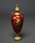 Vase with cover/stopper, Royal Doulton, Edward Raby, Circa 1905, C1959.6
