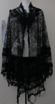 Lace shawl; Unknown; c. mid 1800's; 1990_1427