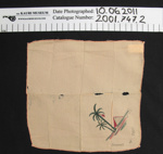 Silk handkerchief souvenirs WW1; Unknown; c.1914-1918; 2001_747_2-3