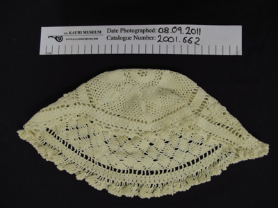 Crochet hat; Unknown; Unknown; 2001_662