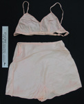 Bra, knickers and petticoat set c.1939-45; Unknown; c.1939-45; 2003_397_1-3