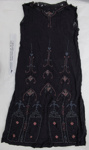 1920's beaded 'flapper' evening dress, and petticoat; Unknown; c.1920's; 2009_233_1-2