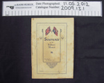 Booklet 'The Soldiers' Mascot'; Mr Rutherford; 1917; 2009_13_1