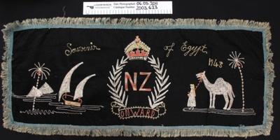 Embroidered souvenir WW2; Unknown; 1943; 2003_623
