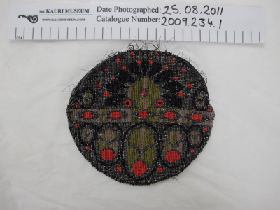 Beaded evening purse; Unknown; c.1920's; 2009_234_1