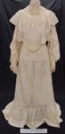 Wedding gown 1904; Unknown; 1904; 2010_345_1-2