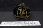 Rugby cap 'FWR' 1905-1909; J.A. Cooper; 1905; 2004_165_2