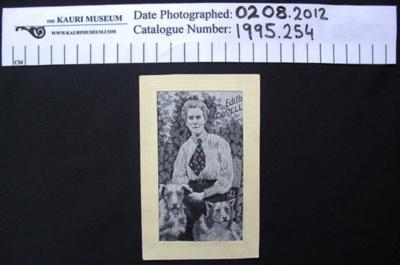 Edith Cavell Postcard; c.1915-1919; 1995_254