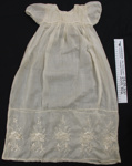 Christening gown WW1; Mary Garmson; c.1914-1950; 2001_702