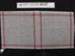 Needlework sampler mesh; Unknown; Unknown; 1989_697_1