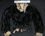 Bodice jacket c.late 1800; Unknown; c.late 1800's; 1990_827