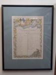Certificate Roll of Honour WW1 Toka Toka School.; 1918; 2002_261
