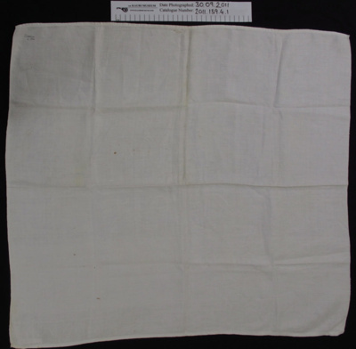Damask towel; Unknown; 1886; 2011_139_4_1