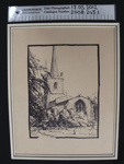 Print of Hornchurch Anglican Church, Kent; c.1973; 2008_245_1