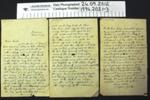 Letter 1916; John Irving; 1916; 1994_203_1-3