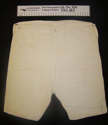 Boys pants; Unknown; c.1900-1930; 1983_163