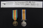 WW1 Medals; 1919; 2001_333_1-2