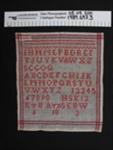 Needlework sampler; HSK; 1903; 1989_697_3
