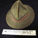 WW2 Lemon Squeezer hat; c.1939-1945; 2007_42_3