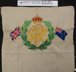 Embroidered souvenir WW1; Unknown; c.1914-1920; 2003_299_2