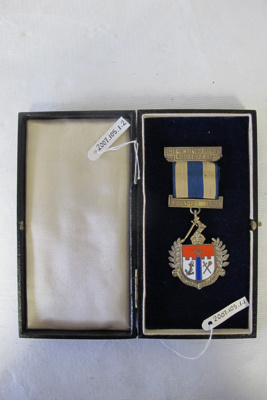 J G Coates Combined Forces Lodge Medal; 2007.105.1.1-2