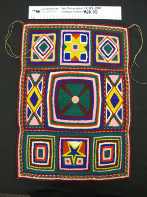 Wool embroidery sampler; Mr Nelson Cartwright snr; 1915; 1968_70