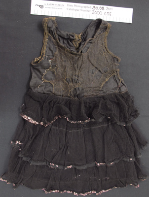 Child's dance dress; Unknown; c.1920; 2000_656