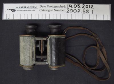 Binoculars WW2; c.1939-1945; 2007_58_1